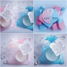 40 gender reveal baby shower favours package pillow box favours