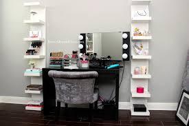 makeup vanity makeup vanity small corner desk combo modern desks