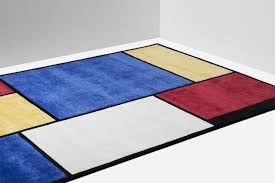 Mondrian Collection Rugs Nodus Mondrian Rug Samuele Mazza Owo Online Design Store