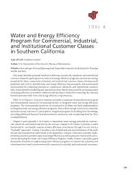 part 2 water efficiency management toolbox water efficiency