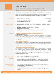 Brief Resume Example by Sample Resume Download Doc Best Free Resume Collection