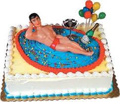 amazon com oasis supply macho man bachelorette party cake