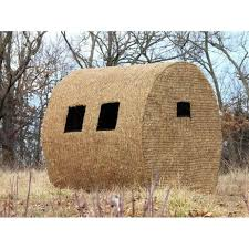redneck outfitter hay bale blind