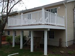 home plans with second floor deck