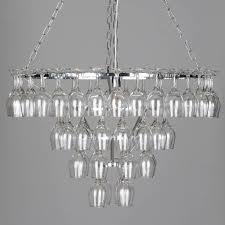 diy wine glass rack chandelier do it your self