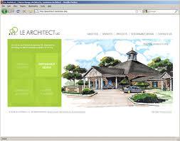 architect website design design portfolio baton rouge website design print design