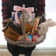 chocolate basket delivery le sucre doll and chocolate basket flower delivery south korea