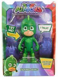 pj masks deluxe talking figure gekko play toys kids