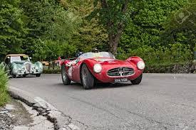 maserati a6gcs vintage racing car maserati a6 gcs 53 1954 in rally mille miglia