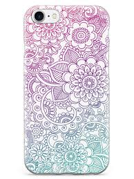 flower zentangle pattern case u2013 inspiredcases