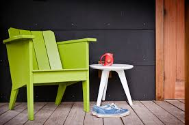 Recycled Plastic Adirondack Chairs Modern Deck Chair For The Outdoor Lollygagger Loll Designs