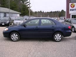 2005 toyota corolla review earthy cars earthy car of the week 2005 blue toyota corolla