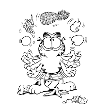 garfield coloring pages coloring pages for kids