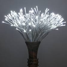 lighted branches white starburst led lighted branches cool white twinkle lights 1