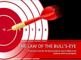 Seeking Bullseye Sales Of Bulls Eye