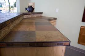 Countertop Tiles Kitchen Tile Kitchen Countertops Inside Lovely How To Install