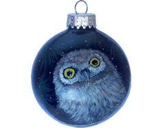 custom order painted ornament glass portrait