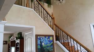 Iron Stair Banister Hand Made Handmade Wrought Iron Stair Railing By Juno Ironcraft
