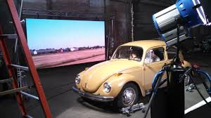 volkswagen background pixelflex goes on set with medialight inc best led display