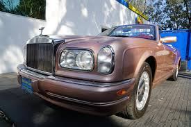 2001 Rolls Royce Corniche For Sale 2044643 Hemmings Motor News