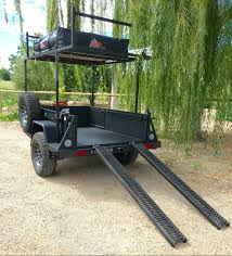 jeep utility trailer ugoat u0027multi trailer u0027 is a bombproof tow behind