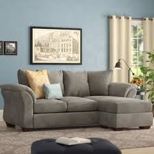 Fabric Sectional Sofas Fabric Sectionals You Ll Wayfair