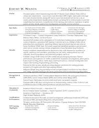 Veteran Resume Examples by Innovational Ideas Military To Civilian Resume Examples 7 6 Sample