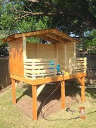 Backyard Fort Ideas Best 25 Backyard Fort Ideas On Pinterest Garden Playhouse