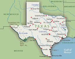 tecas map map