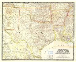 Intracoastal Waterway Map Oklahoma And Texas Map Wisconsin Map