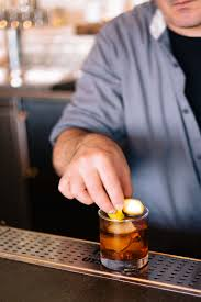 old fashioned cocktail garnish hog island oyster co port authority old fashioned the taste sf