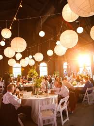 Wedding Reception Decor Photo Of The Day Hanging Paper Lanterns Paper Lanterns And Cafes
