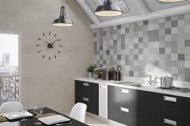 backsplash kitchen tile splashback white tiles black grout