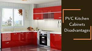 best material for modular kitchen cabinets pvc kitchen cabinets disadvantages get the expert tips
