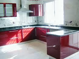 cuisine couleur bordeaux cuisine design bordeaux avec comptoir tlemcen cuisine