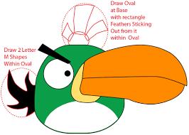 draw angry birds pigs birds books u0027n