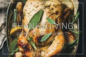 thanksgiving tasting standard market