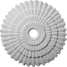 ceiling medallions blanco wreath round chandelier ceiling