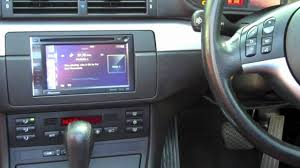 2002 bmw 325i stereo bmw e46 3 series integration of a pioneer din sat nav