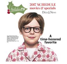 2017 schedule of holiday movies u0026 specials special sections