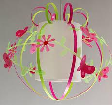 d馗oration papillon chambre fille suspension boule papillon en et vert anis fabrique casse noisette