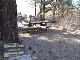 three mile camp los padres backpacking camping mtb ohv and