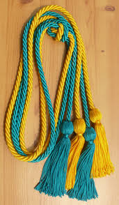 graduation cords cheap gold and teal cord cords honor cords from