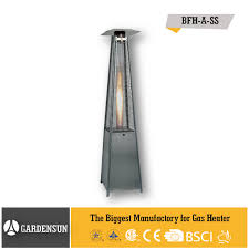 Living Flame Patio Heater by Patio Heater Flame Tube Real Flame Pyramid Patio Heater Outdoor