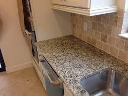 Chiaro Tile Backsplash by Kitchen Backsplash Clashes With Granite
