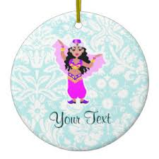 belly dancer ornaments keepsake ornaments zazzle
