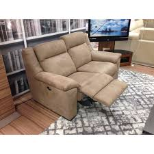 2 Seater Sofa Recliner by Atlanta Suede Effect Recliner 2 Seater Sofa Cardiff Swansea