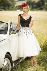 win a retro inspired tea length wedding dress from true bride