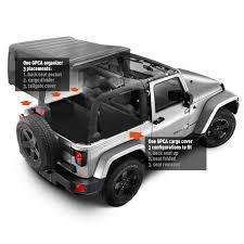 jeep wrangler unlimited sport soft top jeep wrangler jk cargo tonneau cover 100 cover versatile