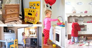 diy play kitchen ideas 25 diy play kitchen ideas apt and appropriate for your little one s